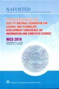 Proceedings of 2016  National foundation for science and technol